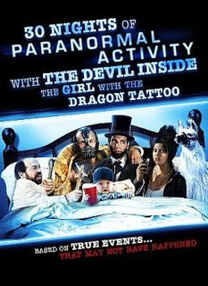 30 Nights of Paranormal Activity with the Devil Inside the Girl with the Dragon Tattoo - Film poster