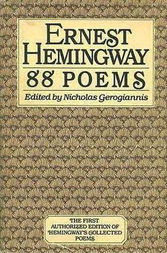 88 Poems - First edition (publ. Harcourt Brace)