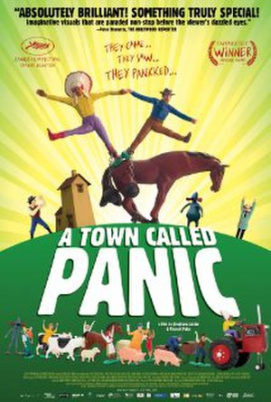 A Town Called Panic (film) - Theatrical release poster