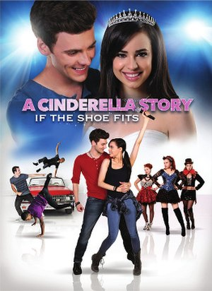 A Cinderella Story: If the Shoe Fits - DVD cover