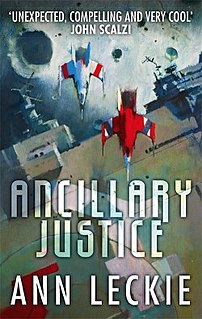 <i>Ancillary Justice</i> science-fiction novel by Ann Leckie