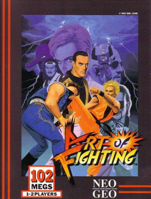 Art of Fighting - North American Neo Geo AES cover art for Art of Fighting