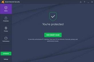 Avast Antivirus - Image: Avast Internet Security screenshot