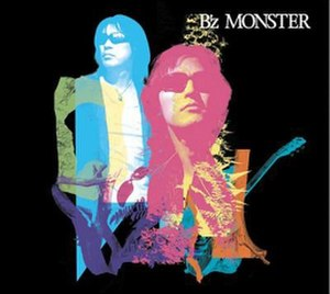 Monster (B'z album) - Image: B'z Monster album cover