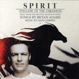Spirit: Stallion of the Cimarron (soundtrack) - Image: BA Spirit