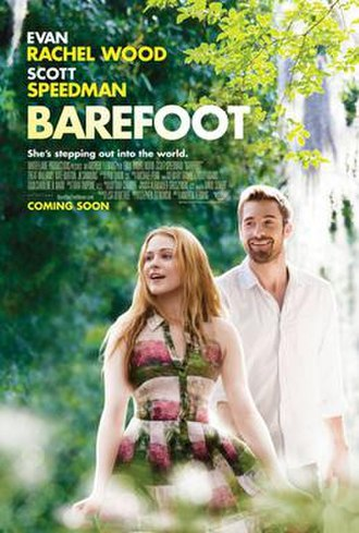 Barefoot (film) - Theatrical release poster