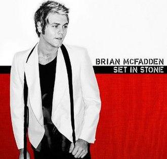 Set in Stone (Brian McFadden album) - Image: Brianmcfaddensetinst one