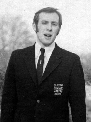 Steven Bellamy - British All-Styles Karate Team member - 1972
