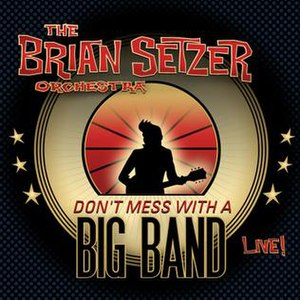 Don't Mess with a Big Band (Live!) - Image: Bso dmwabb cover