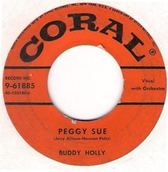 Peggy Sue - Image: Buddy Holly Peggy Sue Coral