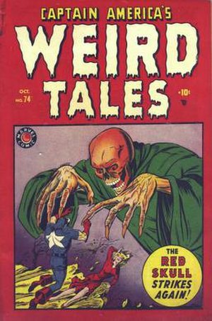 Martin Nodell - Image: Captain America's Weird Tales 74