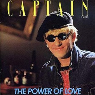 The Power of Love (Captain Sensible album) - Image: Captain Sensible The Power of Love reissue