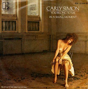 You Belong to Me (Carly Simon song) - Image: Carly Simon You Belong To Me single cover