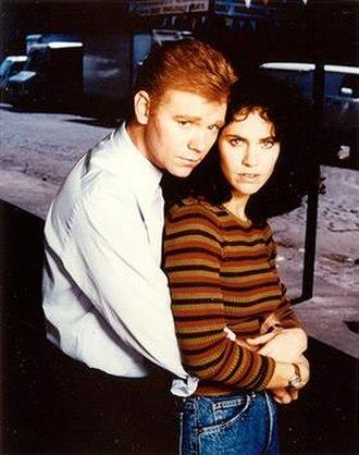 John Kelly (NYPD Blue) - David Caruso as Det. John Kelly with Amy Brenneman as Janice Licalsi