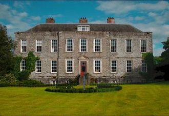 Sunshine Life for Me (Sail Away Raymond) - The main house at Castle Martin, in County Kildare, where Harrison stayed with Donovan in 1971