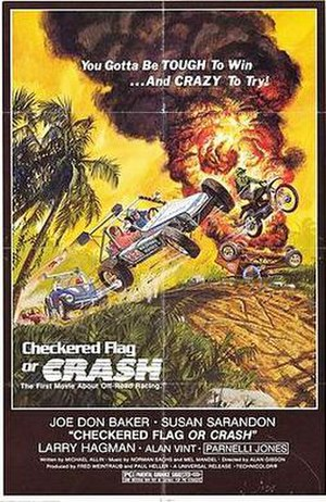 Checkered Flag or Crash - theatrical poster