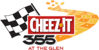 Cheez-It 355 at The Glen logo.png