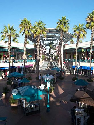 Chula Vista, California - The Chula Vista shopping center