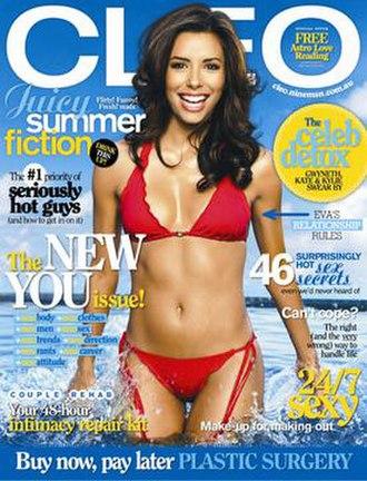 Cleo (magazine) - Image: Cleo au 0702