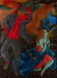 Clive Hicks-Jenkins British artist