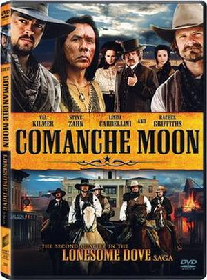 Comanche Moon (miniseries) - DVD cover
