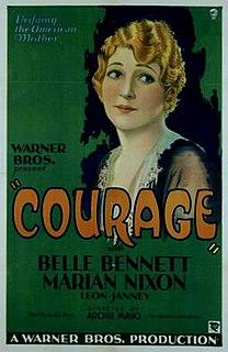 <i>Courage</i> (1930 film) 1930 film by Archie Mayo