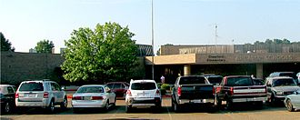 Arcadia, Louisiana - Crawford Elementary School in Arcadia
