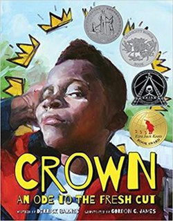 <i>Crown: An Ode to the Fresh Cut</i> 2017 picture book by Derrick Barnes