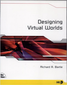 The cover of Designing Virtual Worlds
