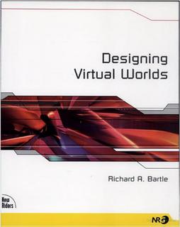<i>Designing Virtual Worlds</i> book by Richard Bartle