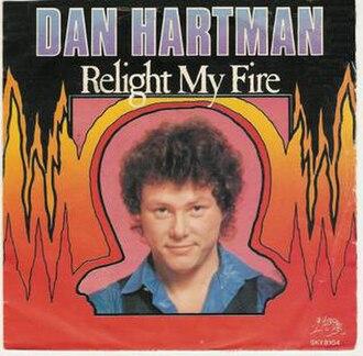 Relight My Fire - Image: Dan Hartman Relight My Fire