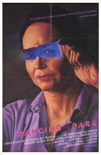 Dancing in the Dark (1986 film) - Promotional film poster