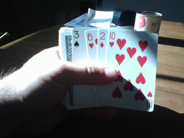 2 handed card games