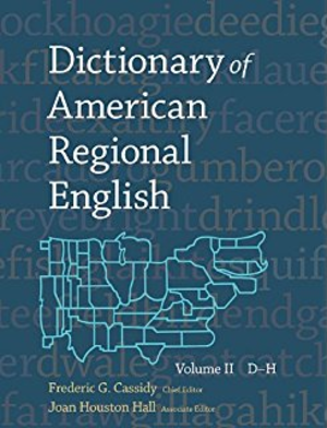 Dictionary of American Regional English - Dictionary of American Regional English cover