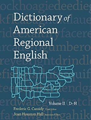 Dictionary of American Regional English - Dictionary of American Regional English cover