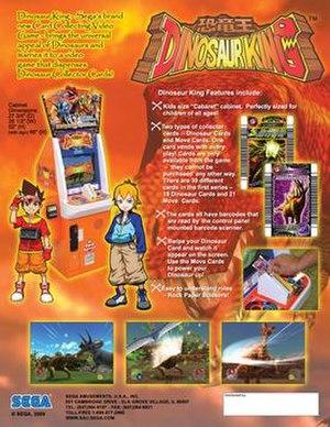 Dinosaur King - Dinosaur King arcade promotion featuring Max Taylor and Rex Owen.