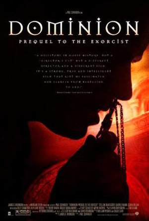 Dominion: Prequel to the Exorcist - Theatrical release poster