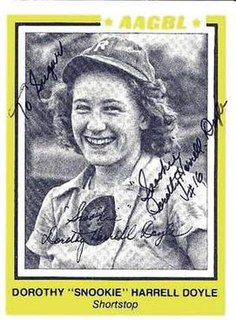 Dorothy Harrell All-American Girls Professional Baseball League player