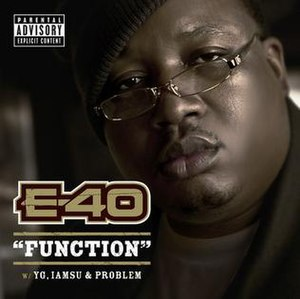 Function (song) - Image: E 40 Function