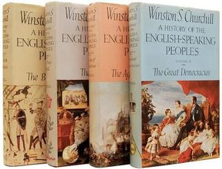 <i>A History of the English-Speaking Peoples</i> book