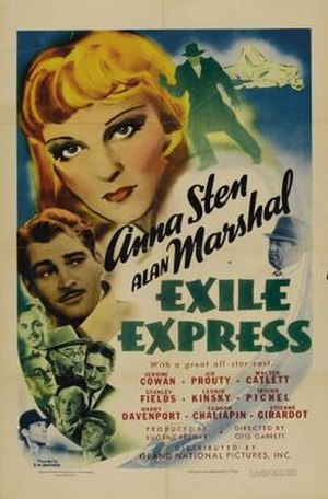 Exile Express - Film poster