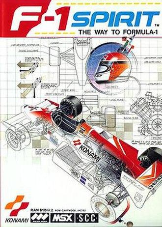 F-1 Spirit (series) - Japanese cover art
