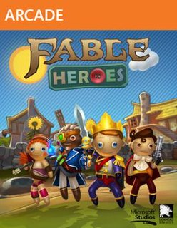 <i>Fable Heroes</i> video game