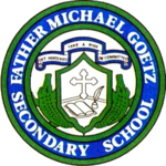 Father Michael Goetz Secondary School logo.png