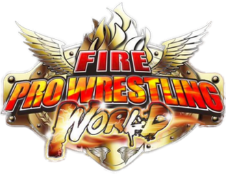 Fire Pro Wrestling - Logo utilized in Fire Pro Wrestling World.