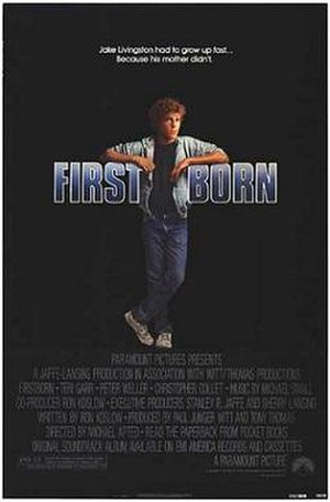 Firstborn (1984 film) - Theatrical release poster