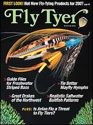 Fly Tyer - Fly Tyer magazine's January/February 2007 cover.
