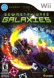 <i>Geometry Wars: Galaxies</i> multidirectional shooter video game