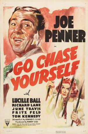 Go Chase Yourself - Theatrical release poster