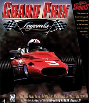 Grand Prix Legends - North American boxart